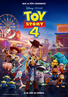 Toy Story 4 Affiche